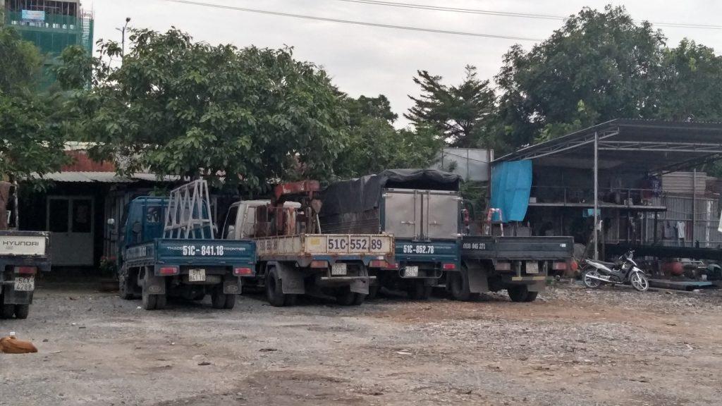 Dịch vụ cho thuê xe tải chuyển nhà trọ tại tphcm